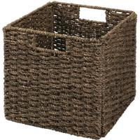 Cesto Organizador Seagrass- Marrom- 27X26,5X26,5Cmhudson