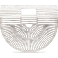 Cult Gaia Clutch Ark Mini - Branco