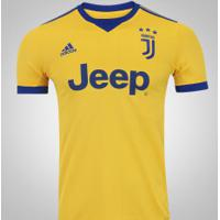 Camisa Juventus Ii 17 18 Adidas - Masculina - Ouro Azul 96e230ecd40d4