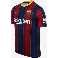 Camisa Nike Barcelona I 2020/21 Torcedor Masculina