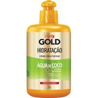 Creme Para Pentear Niely Gold Hidratação Milagrosa Água De Coco 280G