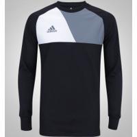 Camiseta De Goleiro Manga Longa Adidas Assita 17 - Masculina - Preto