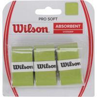 Overgrip Wilson Over Pro Soft - Verde Claro