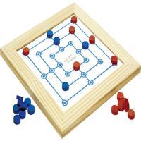 Jogo De Trilha Com Moldura Tabuleiro 31X31 Cm - Fundamental