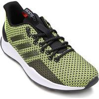 Tênis Adidas Questar Trail Masculino - Masculino-Verde Limão