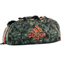 7e01f1945 Farfetch; Bolsa Com Alça De Ombro Adidas Judô Essential Camou 65L - Unissex