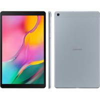 "Tablet Samsung Galaxy Tab A Prata Com Tela 10.1"", 4G, 32Gb E Camêra 8 Mp - Sm-T515Nzslzto"