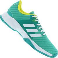 5ef99f3d952 Tênis Adidas Barricade Court 3 - Masculino - Verde Claro Branco
