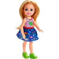 Barbie Boneca Com Camiseta Estampa De Dinossauro - Mattel - Kanui