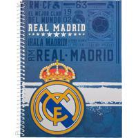 Caderno Foroni Real Madrid Marinho 15 Matérias