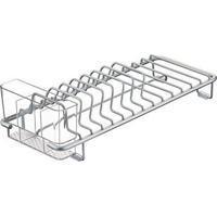 Escorredor De Louça Interdesign Metro Alumínio 33X14X12Cm - 30414