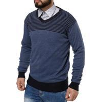Suéter Masculino Azul