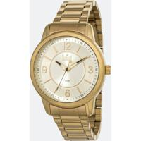 Kit Relógio Feminino Dumont Du2035Mnx/K4D 5Atm + Conjunto Semijóia