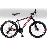 Bicicleta Sutton Extreme Aro 26 Disco Kit 21V Shimano Yamada - Unissex