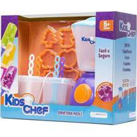 Máquina De Sorvete - Kids Chef - Picolé - Multikids