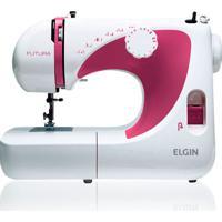 Máquina De Costura Jx2040 Futura 127V- Elgin - Branco