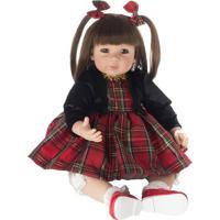 Boneca Laura Doll Red Chess - Castanho Escuro & Castanhoshiny Toys