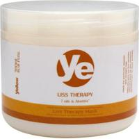 Máscara De Tratamento Yellow Liss Therapy - 500G - Unissex-Incolor