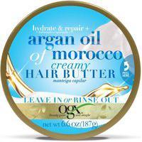 Manteiga Capilar Hidratante Ogx Hair Butter Argan Oil Of Morocco 187 G