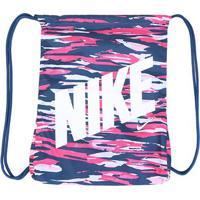 Sacola Infantil Nike Gmsk Estampada - Unissex-Azul+Rosa