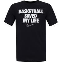 Camiseta Nike Dry Verbia - Masculina - Preto