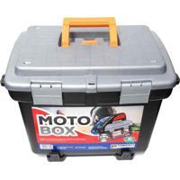 Maleta Baú Para Moto Box Em Plástico Removível Arqplast