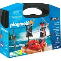 Playmobil - Pirates - Maleta Dos Piratas - 5655 - Sunny - Unissex-Incolor