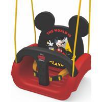 Balanço Xalingo De Pendurar Mickey - 3 Em 1 - Vermelho E Preto