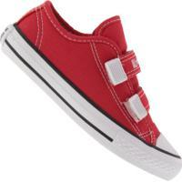 Tênis Converse All Star Chuck Taylor Border 2 - Infantil - Vermelho