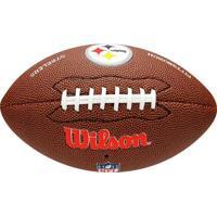 Bola Futebol Americano Wilson Nfl Pittsburgh Steelers - Unissex
