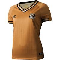 e632a4e36c Netshoes  Camisa Santos Iii 2018 S N° - Torcedor Umbro Feminina - Feminino