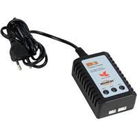 Carregador De Bateria De Lipo 2S/3S Imax B3 - Fonte Embutida 110/220V (Oem) - Unissex