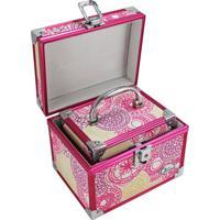 Kit De Maletas Com 2 Peças Jacki Design My Lolla Pink