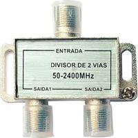 Divisor Coaxial Blindado De Alta Frequência Com 2 Saídas