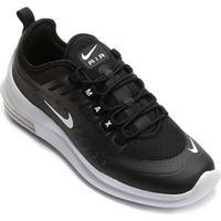 Tênis Nike Air Max Axis Masculino - Masculino-Branco+Preto