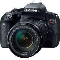 Câmera Dslr Eos Rebel T7I, 24.2Mp, 3´´, Wi-Fi - Preto Canon