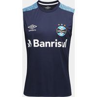 Camisa Regata Umbro Grêmio Treino 18 Masculina - Masculino