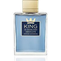 Perfume Masculino King Of Seduction Antonio Banderas Eau De Toilette 200Ml - Masculino-Incolor