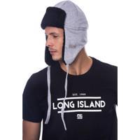 Gorro Long Island Chv Masculino - Masculino-Cinza