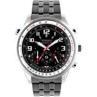 Relógio Vivara Masculino Aço Preto - Ds08714R1L-1