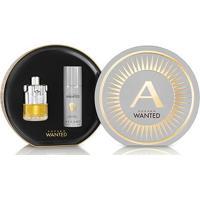 Kit Perfume Masculino Wanted Azzaro Eau De Toilette 100Ml + Desodorante 150Ml - Masculino-Incolor