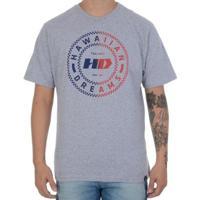 Camiseta Hd Traditional Masculina - Masculino-Mescla