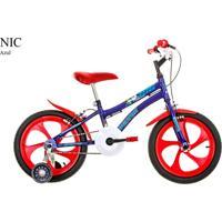 Bicicleta Aro 16 Nic Houston Azul