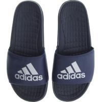 Chinelo Adidas Voloomix - Slide - Masculino - Azul Esc/Cinza Cla