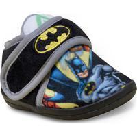 Pantufa Masc Infantil Ricsen 1443 Batman Preto