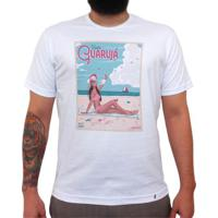 Visite Guarujá 139 Ton - Camiseta Clássica Masculina