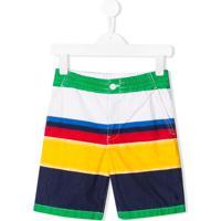 Ralph Lauren Kids Short Listrado - Estampado