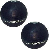 Bolas Medicine Slam Ball Para Crossfit 10 Kg Liveup - Unissex