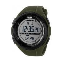Relógio Skmei Led 1025 - Verde Militar