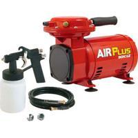Moto Compressor De Ar Ms 2.3 Air Plus Com Kit Vermelho Schulz